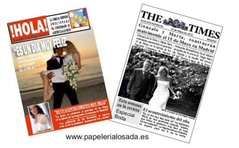 recordatorios de boda originales y personalizados